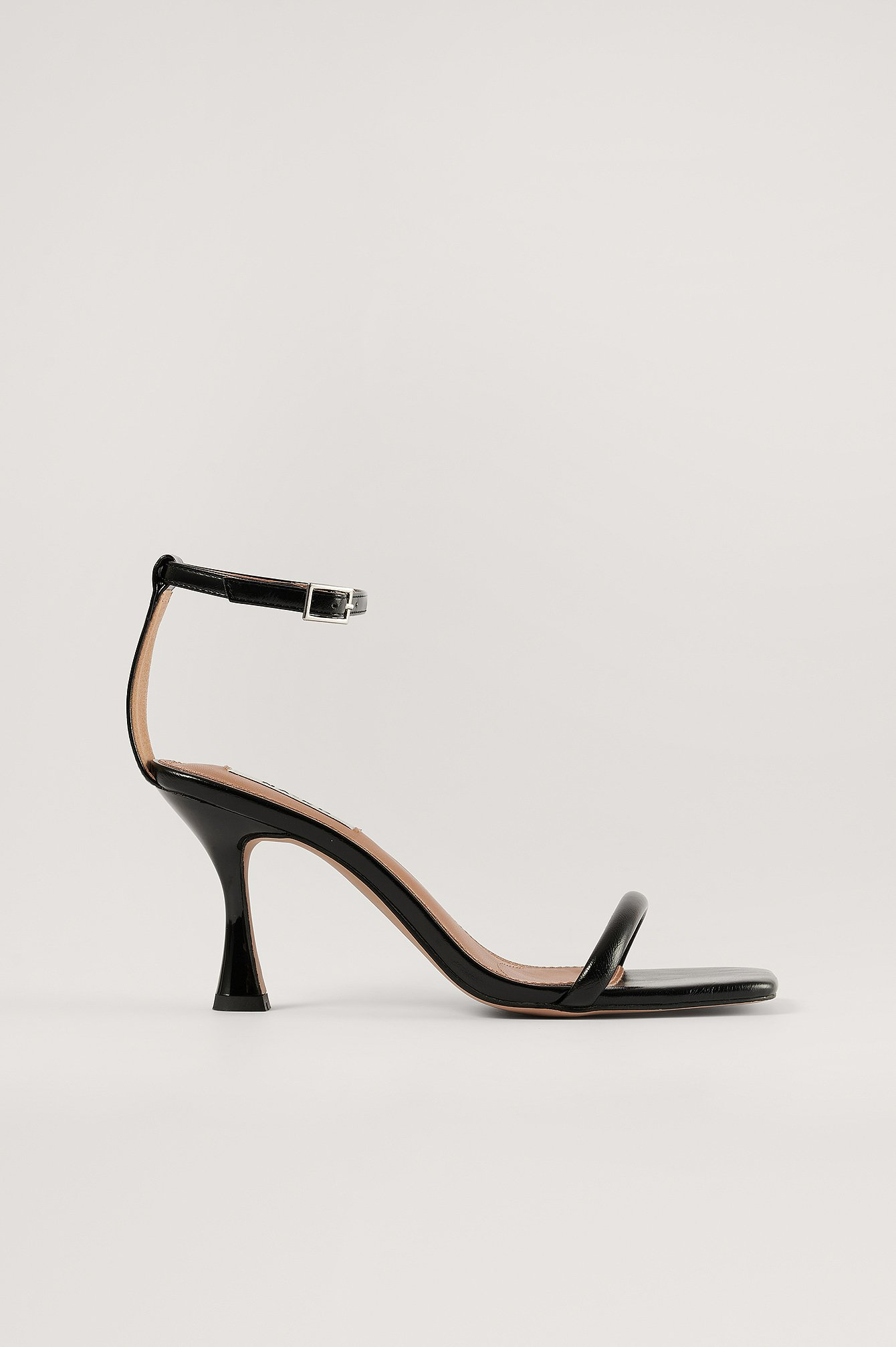 Black Basic Hourglass Sandals