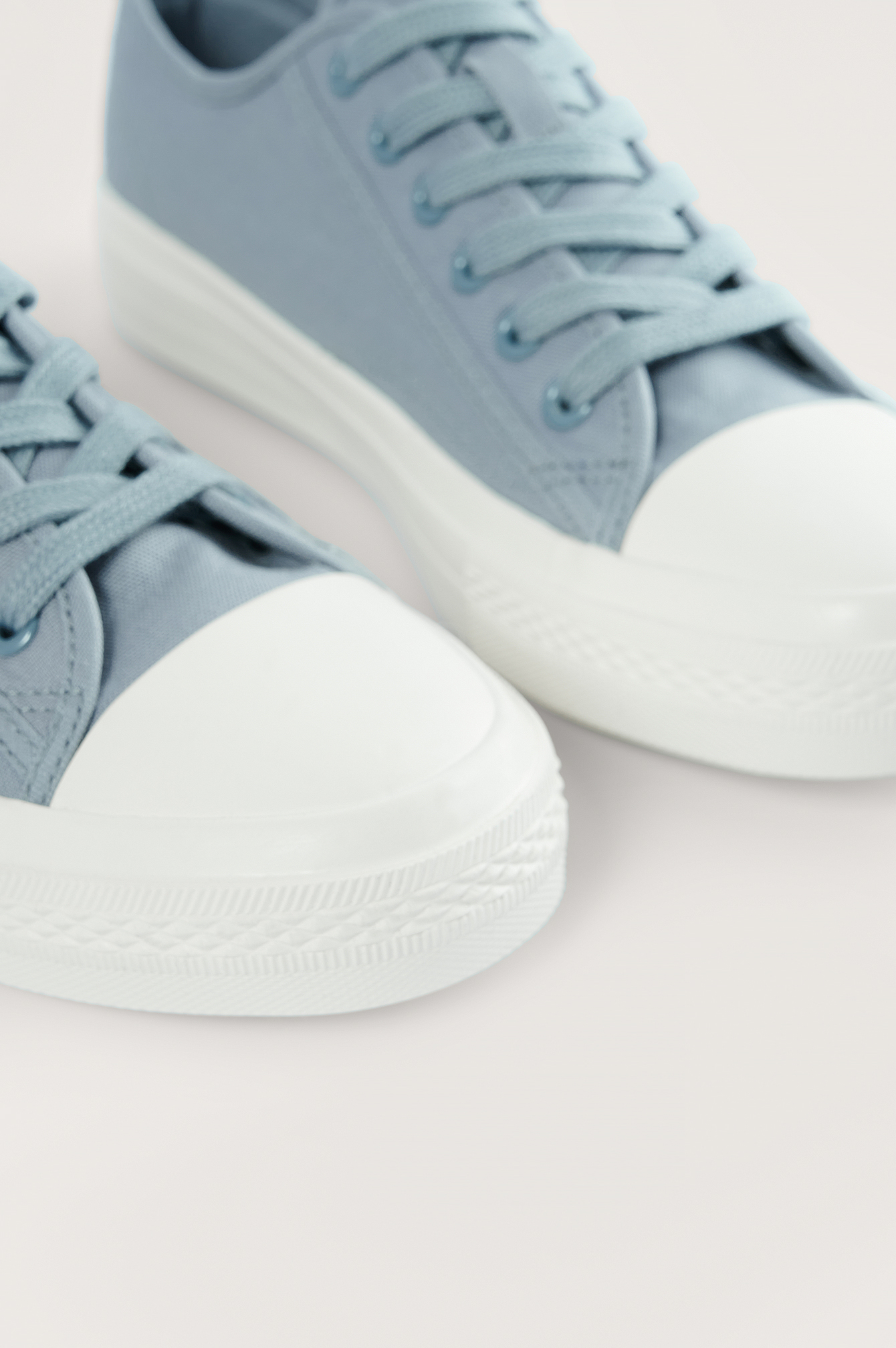 Grey Low Lace Up Trainers
