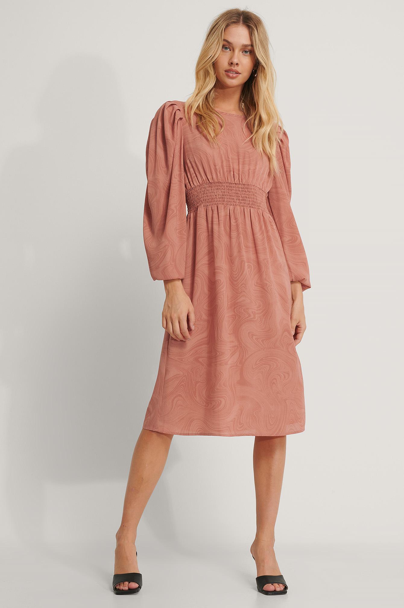 NA KD Crochet Strap Back Dress