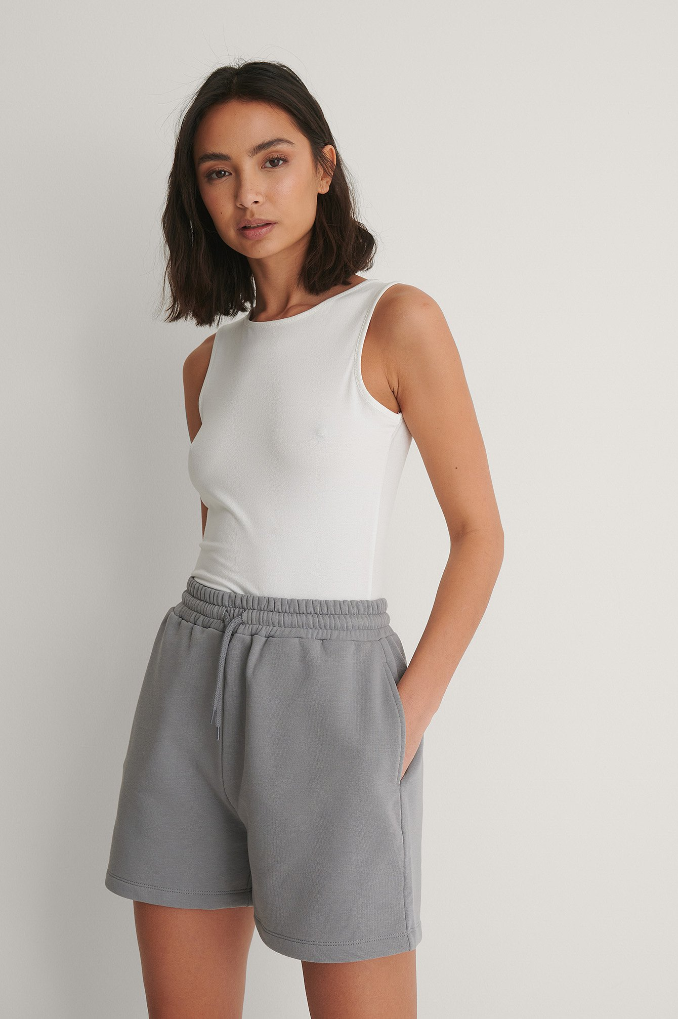 Grey Cool sweat Shorts
