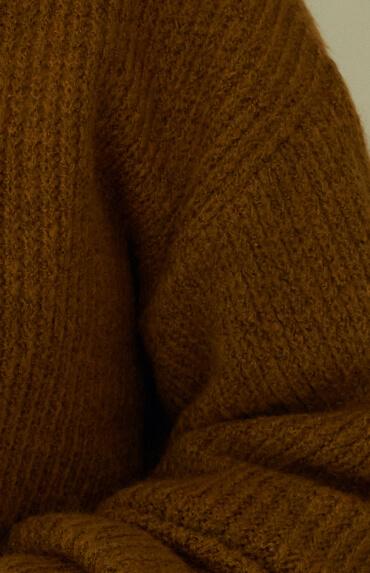 Knitted warm shirt
