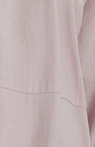 NA‑KD gathered round neck mini dress
